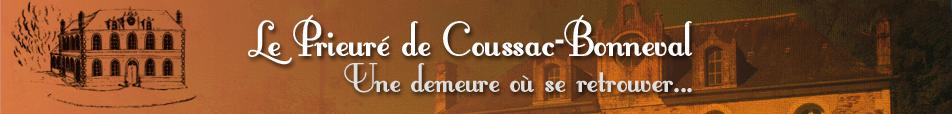 Prieuré de Coussac-Bonneval Gîte en Dordogne Limousin